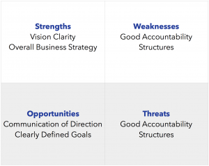 SWOT Leadership Analysis_Annual Business Plan 7 Key Processes
