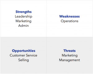 SWOT Analysis_Annual Business Plan 7 Key Processes