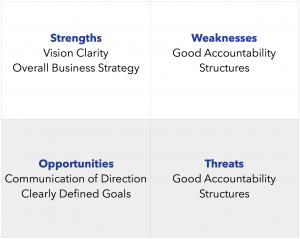 SWOT Leadership Analysis_Annual Business Plan 7 Key Processes